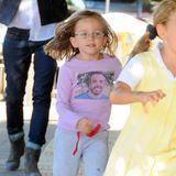 24. September 2013  Seraphina hat ihren Papa auf ihrem T-Shirt immer dabei.