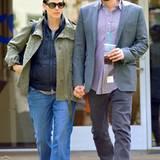 30. März 2012: Jennifer Garner und Ben Affleck sind ohne ihre Kinder in Brentwood unterwegs.