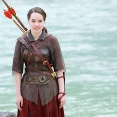 "Filmszene aus ""Prinz Kaspian von Narnia"": Susan Pevensie (Anna Popplewell)"
