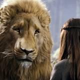 """Filmszene aus """"Prinz Kaspian von Narnia"""": der weise Löwe Aslan"""