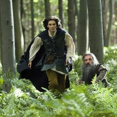 "Filmszene aus ""Prinz Kaspian von Narnia"": Prinz Kaspian (Ben Barnes)"