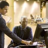 Morgan Freeman wird auch diesmal wieder als Lucius Fox auftreten