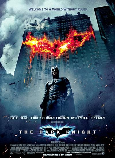 Das Filmplakat zum aktuellen Batman: The Dark Knight