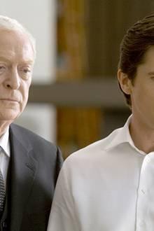 Michael Caine und Christian Bale oder auch Alfred Pennyworth und Bruce Wayne