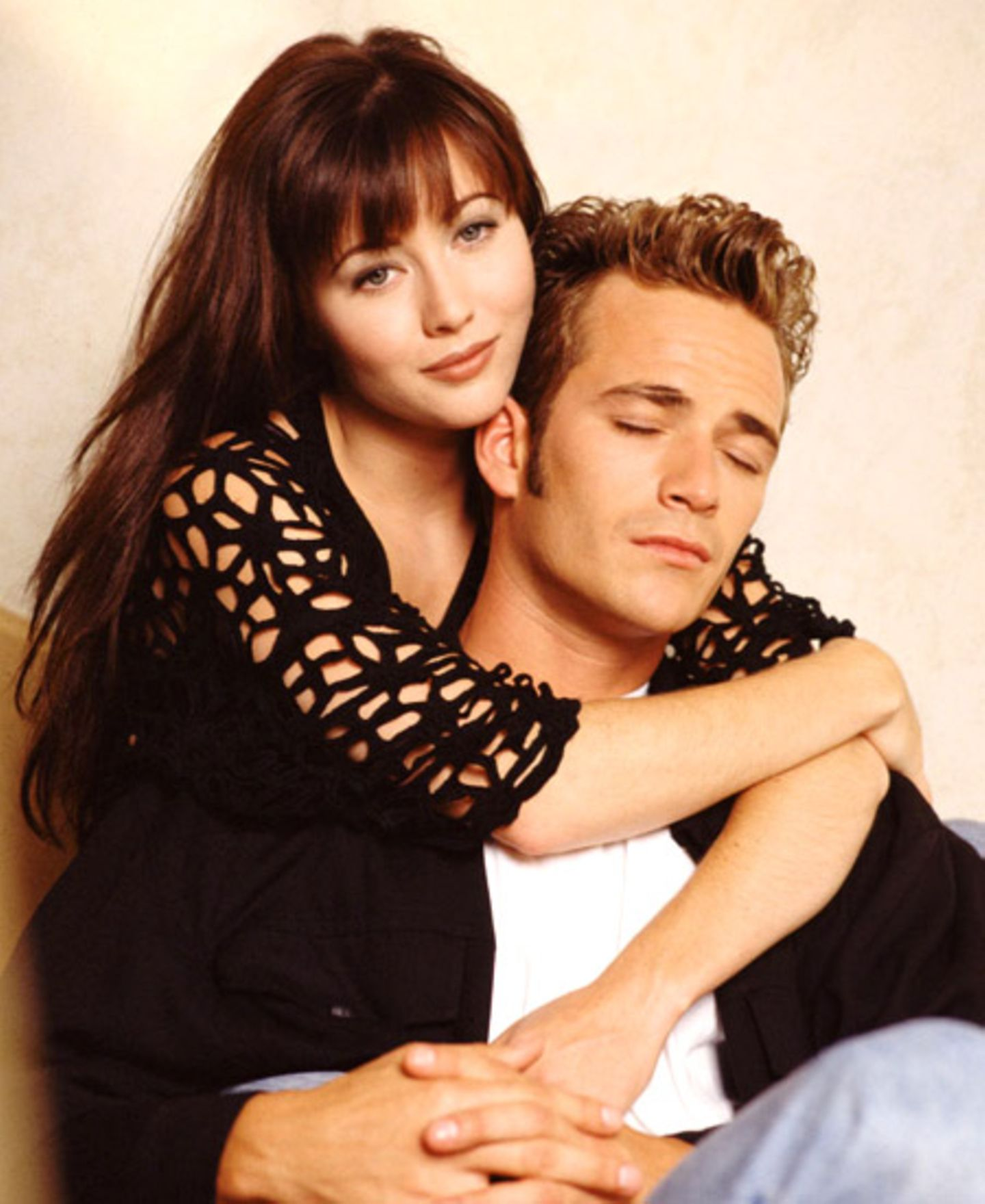 Die erste große Liebe: Brenda Walsh (Shannen Doherty) und Dylan McKay (Luke Perry)