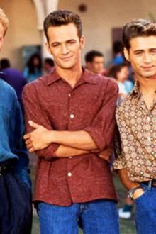 """Die Jungs von """"Beverly Hills 90210"""": Steve Sanders, Dylan McKay und Brandon Walsh"""