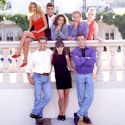 """Die ganze Clique von """"Beverly Hills 90210"""""""