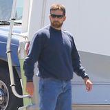 """Bradley Cooper hat sich für seine Rolle in """"American Sniper"""" ein paar Kilos angefuttert und sicherlich auch ordentlich Muskelmasse aufgebaut."""
