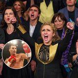 Hayden feuert Wladimir Klitschko an, der seine Ehre gegen Bryant Jennings problemlos verteidigen kann.
