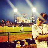 Rita Ora schaut sich das Baseballspiel der San Franciso Giants an.