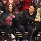 Billy Crystal feuert die Los Angeles Clippers laustark an.