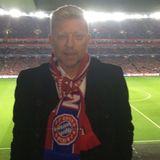 Boris Becker drück Bayern München beim Spiel gegen Arsenal in London die Daumen.