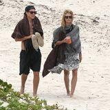 Heidi Klum und ihr Libester Vito Schnabel verbringen einen romantischen Urlaub auf St. Barth.