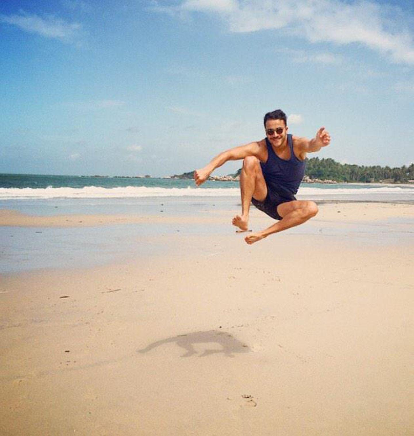Kostja Ullman macht um die Jahreswende Urlaub in Indonesien.