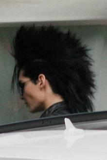 24. September 2009: Bill Kaulitz wird in Hamburg mit seiner neuen - eigentlich noch geheimen - Frisur fotografiert.