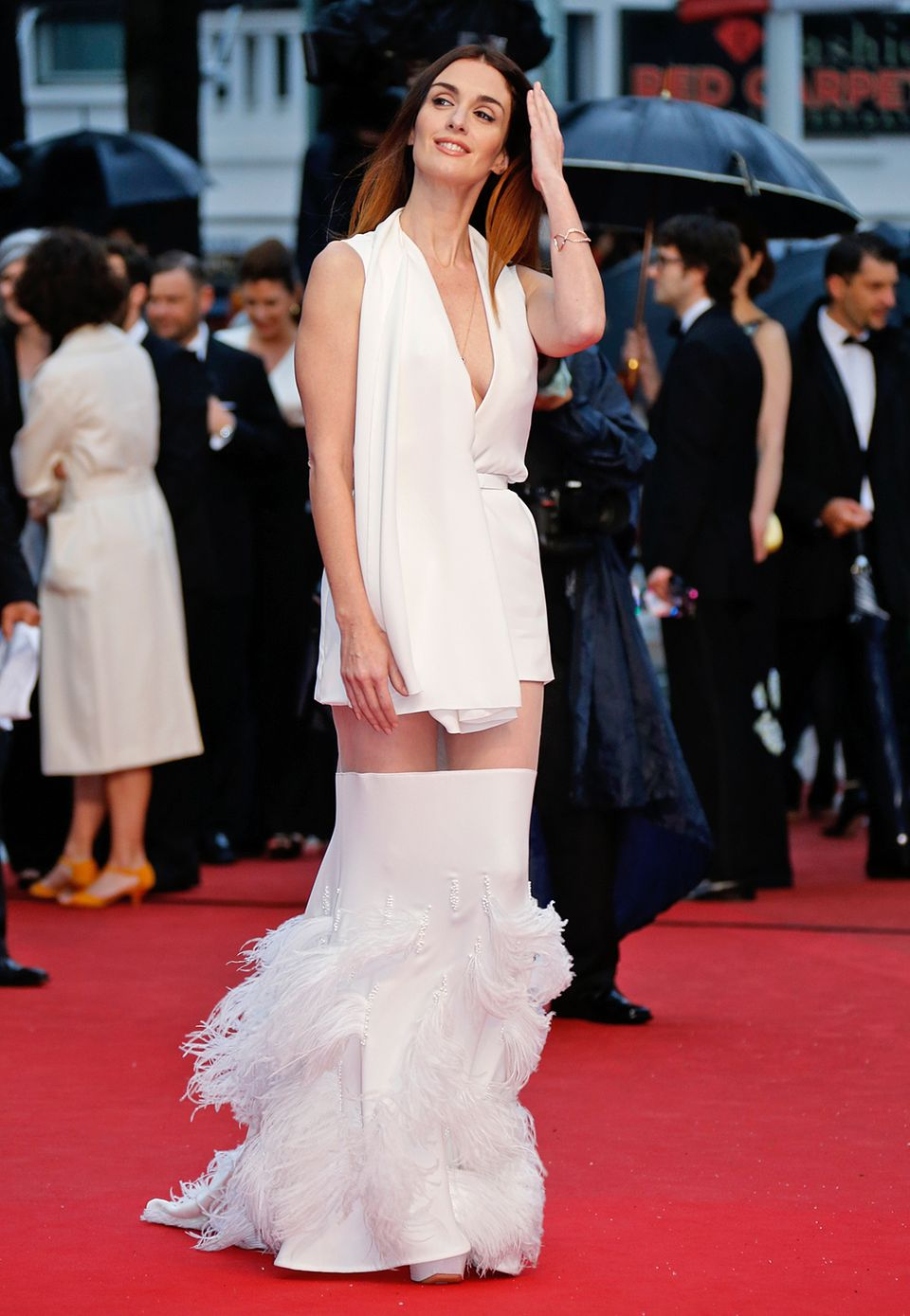 Paz Vega in Stéphane Rolland Couture
