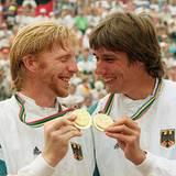 07. August 1992: Medallien-Vergleich mit Michael Stich