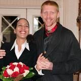 18. Dezember 1993: Boris und Barbara heiraten bei seinem Manager Axel Mayer-Wölden, dem Vater von Sandy
