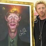 10. Mai 2002: Boris und sein Portrait von Sebastian Krueger