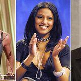 2001: Eine kleine Auswahl seiner Frauen. Er blieb seinem Frauentyp bis heute immer treu