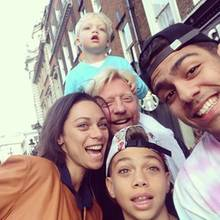 4. Juni 2013: Happy Familiy! Boris Becker mit Ehefrau Lilly und dem gemeinsamen Sohn Amadeus, sowie den Söhnen aus der Ehe mit Ex-Frau Barbara Becker, Noah und Elias.