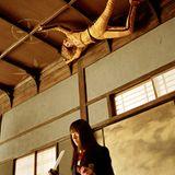 """In """"Kill Bill"""" wollte Chiaki Kuriyama Uma Thurman etwas von ihrer Körpergröße nehmen."""