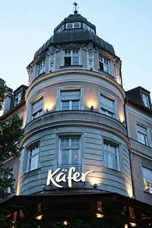 """Das Paar lud enge Freunde und Familie in das Nobelrestaurant """"Käfer"""""""