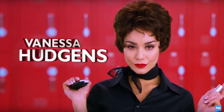 """""""Highschool Musical""""-Star Vanessa Hudgens ist die Idealbesetzung für die toughe Anführerin Rizzo."""