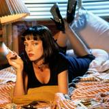 "Uma Thurman in ""Pulp Fiction"""