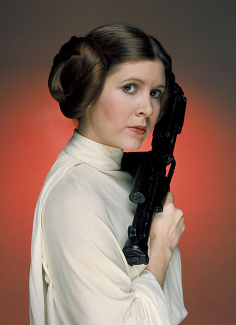 "Carrie Fisher als Prinzessin Leia Organa in ""Star Wars"""