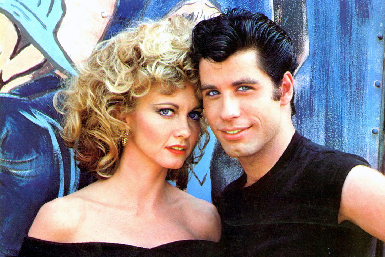 """Olivia Newton-John und John Travolta waren als """"Sandy"""" und """"Danny"""" das Traumpaar schlechthin. Der Film """"Grease"""", basierend auf dem gleichnamigen Musical, kam 1978 in die Kinos und ist einer der erfolgreichsten Musical-Filme überhaupt."""