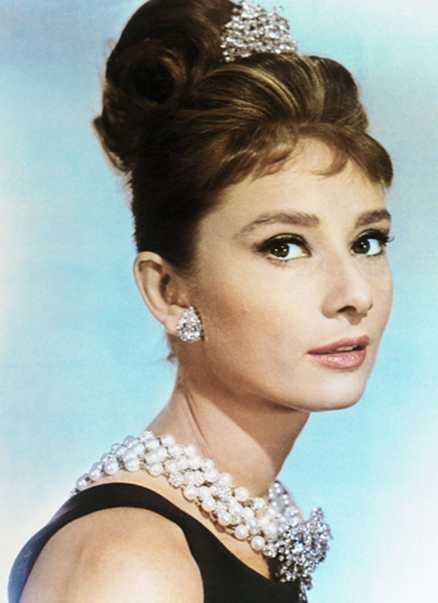 """Audrey Hepburn in """"Frühstück bei Tiffany"""""""