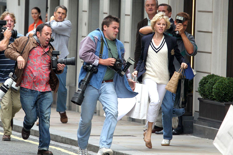 """Naomi Watts in """"Diana""""  Naomi Watts gibt im Film """"Diana"""" die verstorbene Prinzessin. Deren Vorliebe für klassisch-elegante Mode und edle Designertaschen wird von den Kostümbildnern bravourös umgesetzt."""