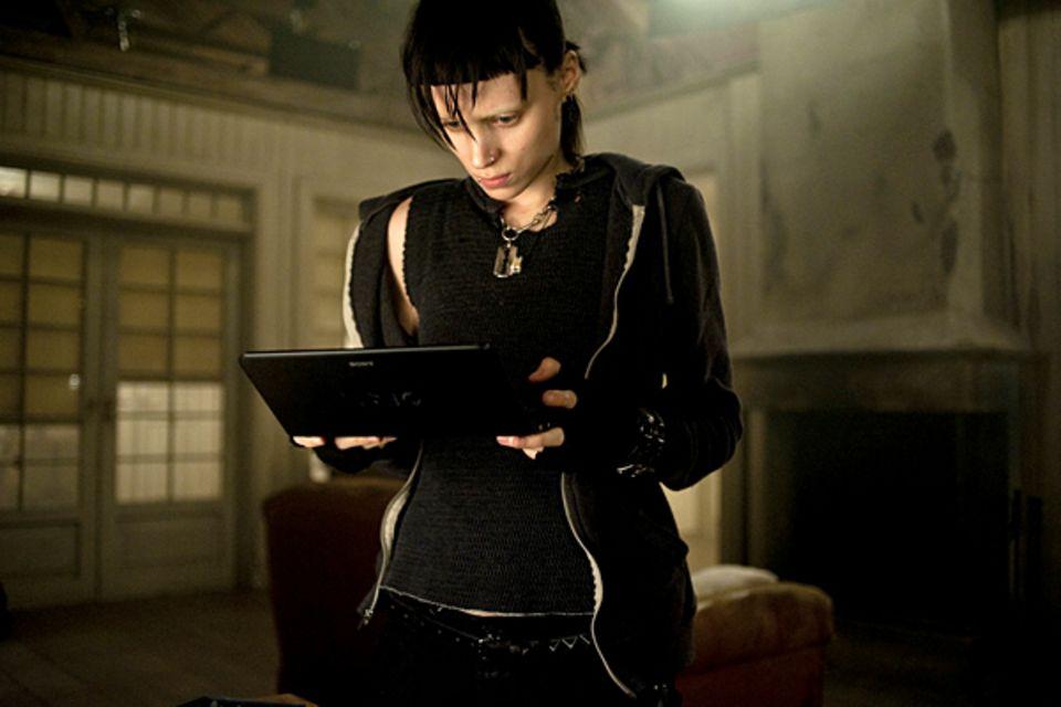 """Rooney Mara in """"Verblendung"""""""