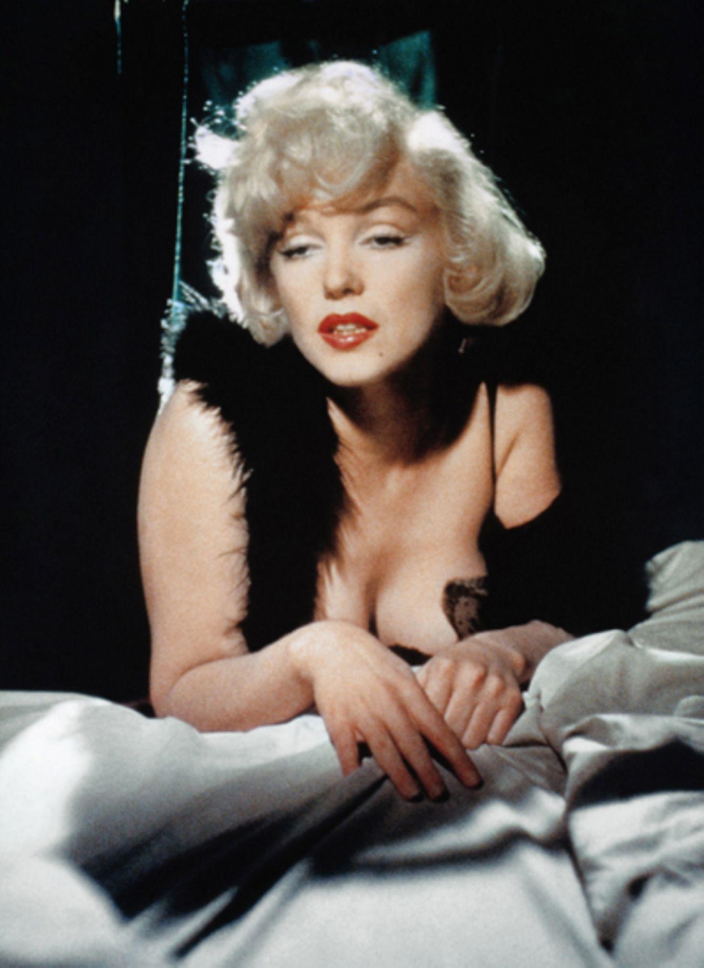 """Marilyn Monroe in """"Manche mögen ?s heiß"""""""