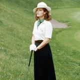 "Romy Schneider 1976 in ""Die Frau am Fenster"""