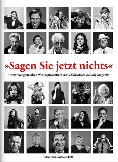 Das Stumme Interview Des Sz Magazins In Bildern S 7