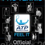 """Der """"ATP""""-Jahreskalender 2009 zeigt Weltranglistenspieler aus zwölf unterschiedlichen Ländern"""
