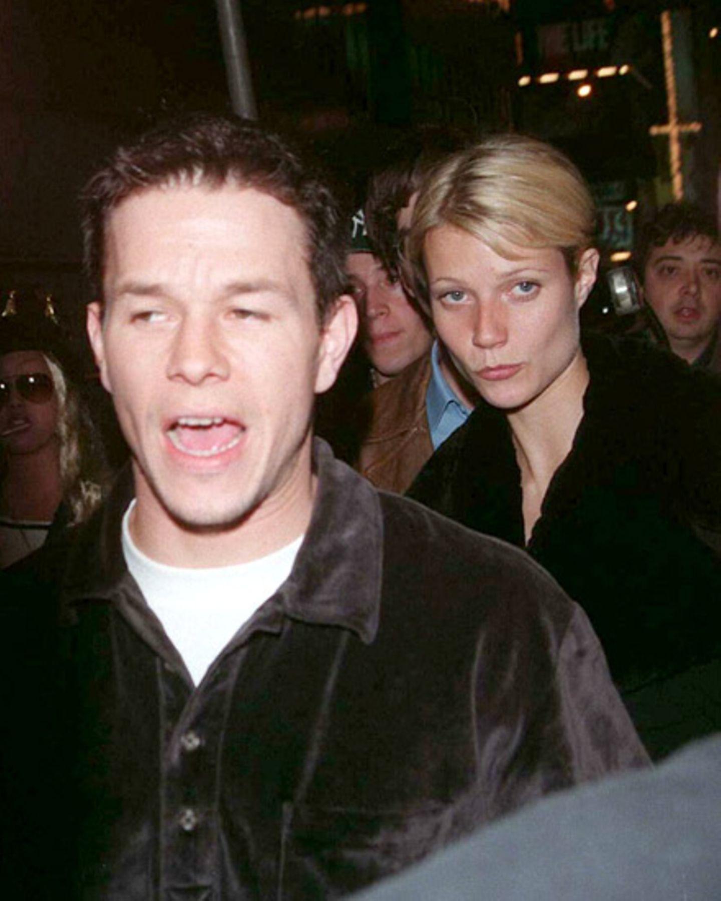 31. Oktober 1997: Mark Wahlberg und Gwyneth Paltrow