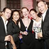 Das L'Oréal-Dreamteam feierte gern mit: José Fornés Pérez, Ninell Sobiecka, Heike Panella, Maria del Castillio Hörup und Alexand