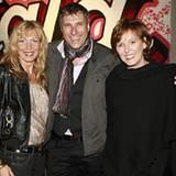 Ricardo Meyer (Ben Sherman) mit Christiane Bruszis (l.) und Nicole Nitschke von Coty Prestige Lancaster Group