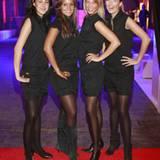 Die Hostessen in G-Star Dorna, Sheila, Branca und Lena halfen den Gästen gern