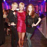 Auf diese Ladys ist Heidi Klum stolz: Deutschlands Topmodels Jennifer Hof, Lena Gercke und Barbara Meier (v. l.)