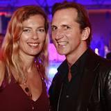 GALA-Vize-Chefin Astrid Sass mit Guido Boehler (Guido Boehler Communications)