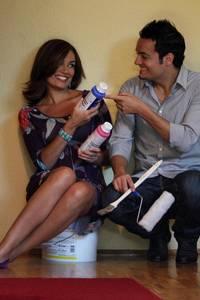 """Die Schwangerschaft ließen das Model und der ehemalige Brosis-Sänger von Pro7 in der Serie """"Wir sind schwanger"""" dokumentieren"""