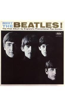Die Beatles auf einem ihrer Plattencover