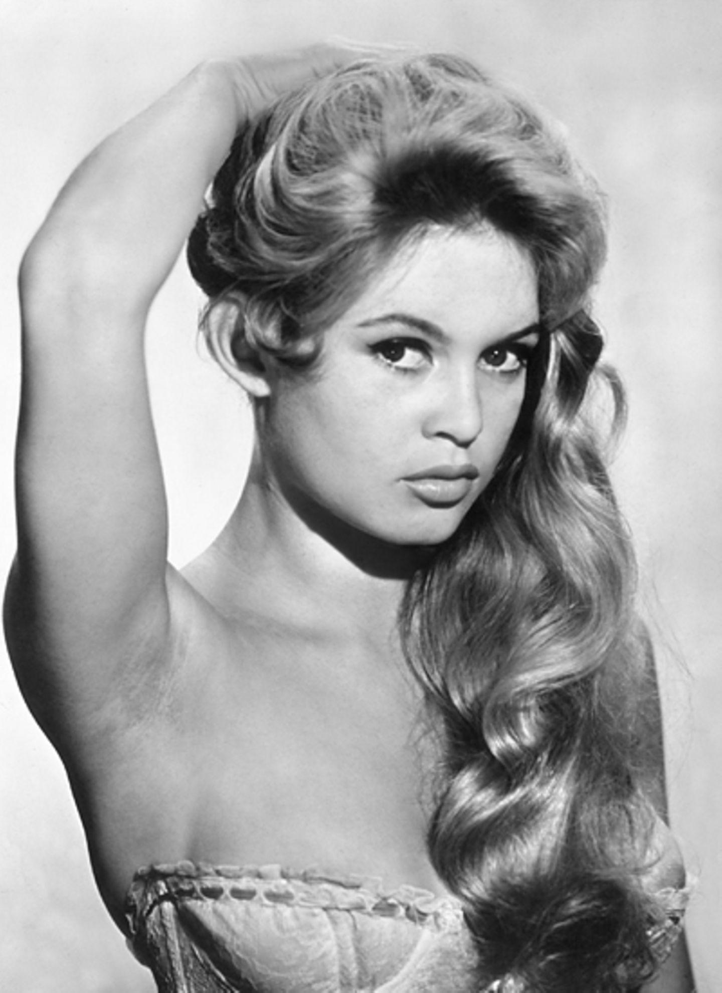 """Brigitte Bardot in dem Film """"Und immer lockt das Weib"""" von 1956"""
