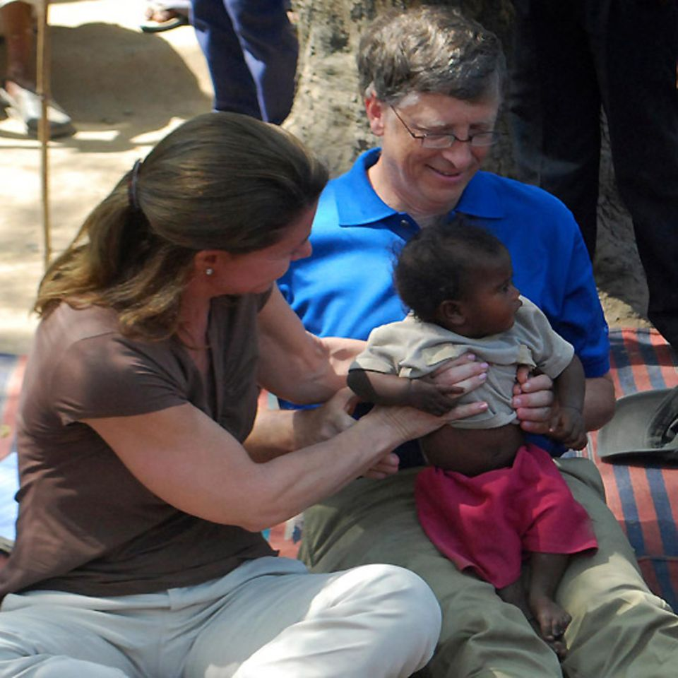 23. März 2011: Bill Gates und seine Frau Melinda tun Gutes mit ihrer Stiftung: Sie unterstützen das Gesundheitswesen in indische