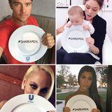 """Stars wie Josh Duhamel, Coco Rocha, Nicole Richie und Kourtney Kardashian unterstützen die """"Share a Meal""""-Kampagne von """"Unlivever USA""""."""