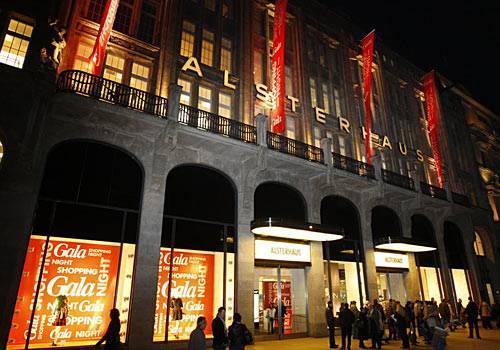 GALA Shopping Night: das Alsterhaus in Hamburg